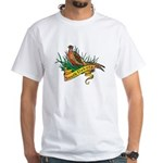 South Dakota Pheasant White T-Shirt