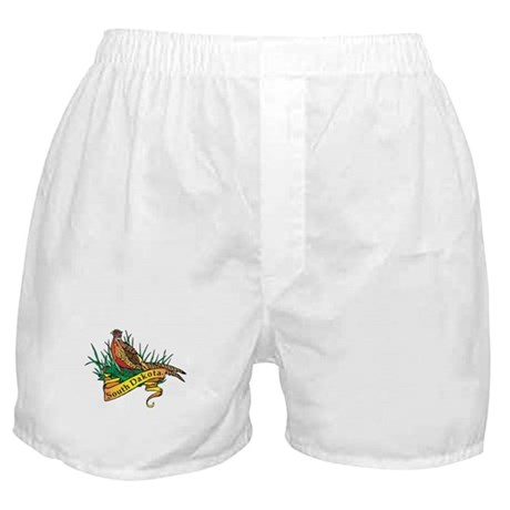 South Dakota Pheasant Boxer Shorts