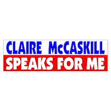 Democrat Claire McCaskill, MO Bumper Bumper Sticker