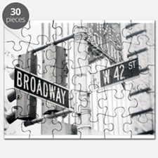 NY Broadway Times Square - Puzzle