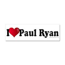 I Heart Paul Ryan Car Magnet 10 x 3