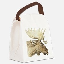 moose drawing Canvas Lunch Bag