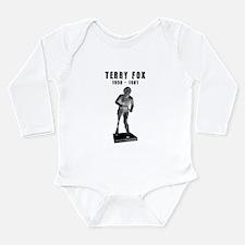 Terry Fox Sculpture Long Sleeve Infant Bodysuit
