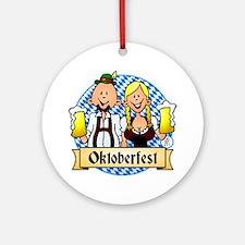 Oktoberfest Ornament (Round)