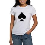 Spades Playing Card Symbol Women's T-Shirt