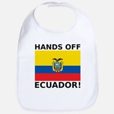Hands off Ecuador! Bib