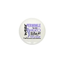 Hero In Life 2 Esophageal Cancer Mini Button (10 p