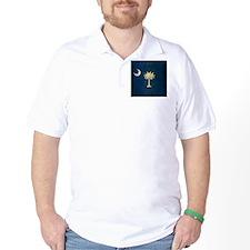Grunge South Carolina Flag T-Shirt