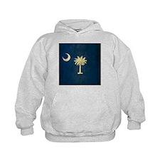 Grunge South Carolina Flag Hoodie
