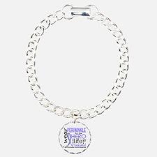 Hero In Life 2 Esophageal Cancer Bracelet