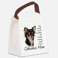 Chihuahua Mom Canvas Lunch Bag