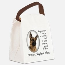 German Shepherd Canvas Lunch Bag