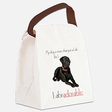 SHE's Labradorable Canvas Lunch Bag