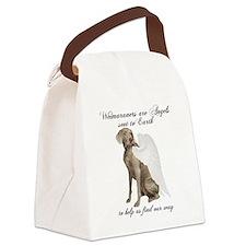 Weimaraner Canvas Lunch Bag