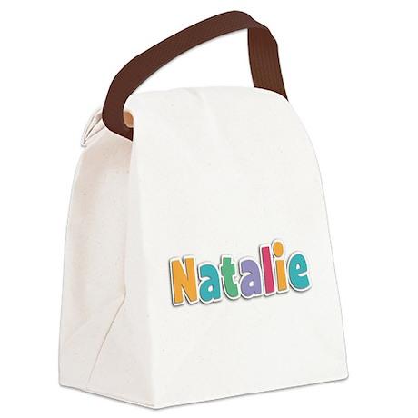 Natalie Canvas Lunch Bag