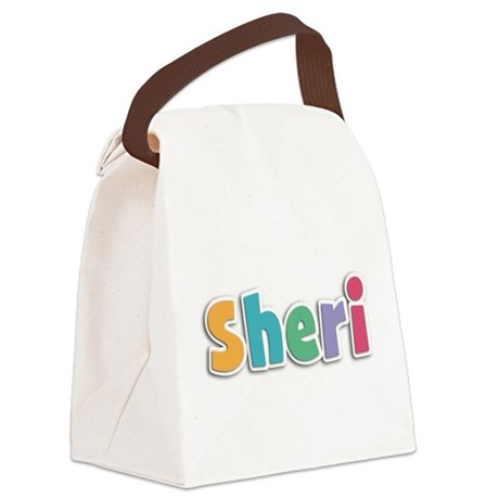 Sheri Canvas Lunch Bag