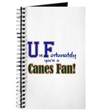 UnFortunately You're A Canes Fan! Journal