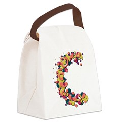 C Canvas Lunch Bag