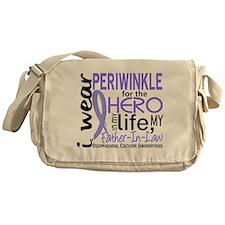 Hero In Life 2 Esophageal Cancer Messenger Bag