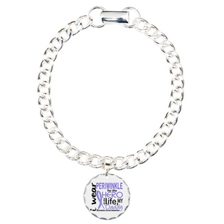 Hero In Life 2 Esophageal Cancer Charm Bracelet, O