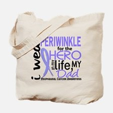 Hero In Life 2 Esophageal Cancer Tote Bag