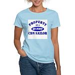 Property of a Canadian Sailor Women's Pink T-Shirt