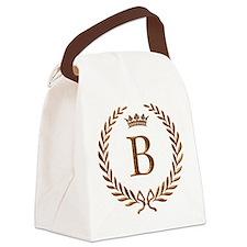 Napoleon initial letter B monogram Canvas Lunch Ba