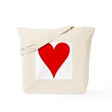 Hearts Playing Card Symbol Tote Bag