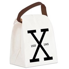 Malcolm X Day Canvas Lunch Bag