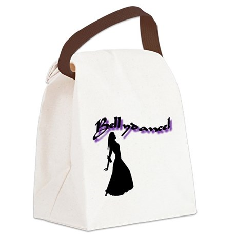 Bellydance! Romany Pose Canvas Lunch Bag