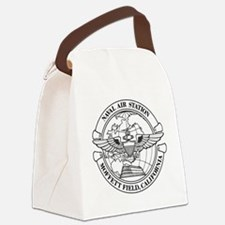 Moffett Field Naval Air Station Canvas Lunch Bag