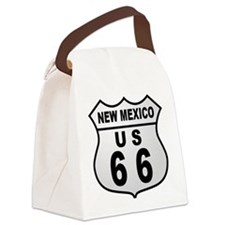 Route 66 New Mexico Canvas Lunch Bag
