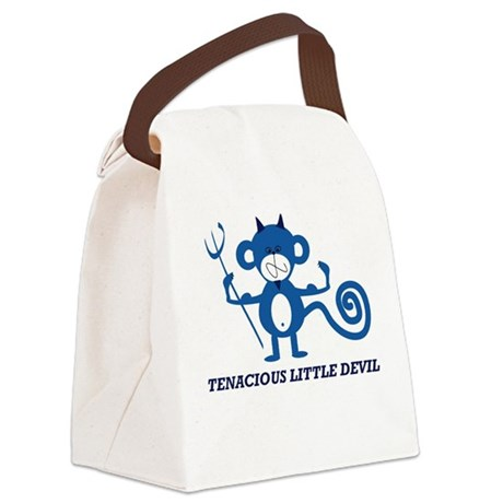 Tenacious Little Devil Canvas Lunch Bag