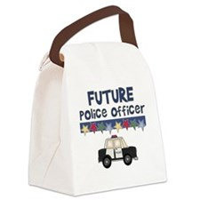 Future Police Officer Canvas Lunch Bag
