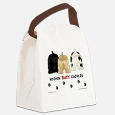 Nothin' Butt Cockers Canvas Lunch Bag
