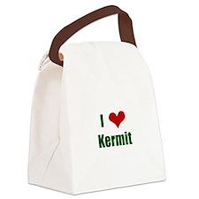 I love Kermit Canvas Lunch Bag