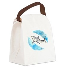 Shark Canvas Lunch Bag