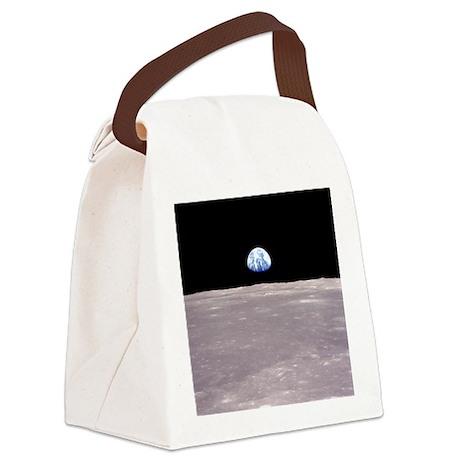 Earthrise Apollo 11 Canvas Lunch Bag