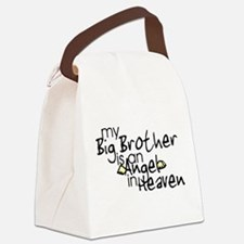 My Big Brother is an Angel in Canvas Lunch Bag