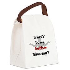 What? Austim Canvas Lunch Bag