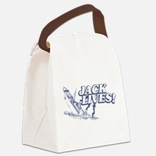 """Jack Lives!"" Canvas Lunch Bag"