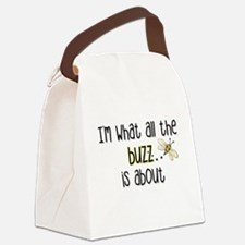"""All the Buzz"" Canvas Lunch Bag"