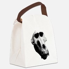 Baboon Skull Canvas Lunch Bag