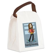 Toony Al Canvas Lunch Bag