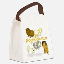 Piggiepalooza Canvas Lunch Bag