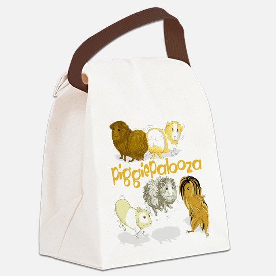 Piggiepalooza Canvas Lunch Bag