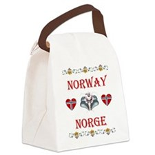 Norway - Norge Canvas Lunch Bag
