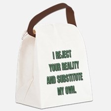 Cute Mythbusters Canvas Lunch Bag