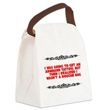 Stupid Tattoo Canvas Lunch Bag