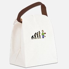 Evolution of Curling Canvas Lunch Bag